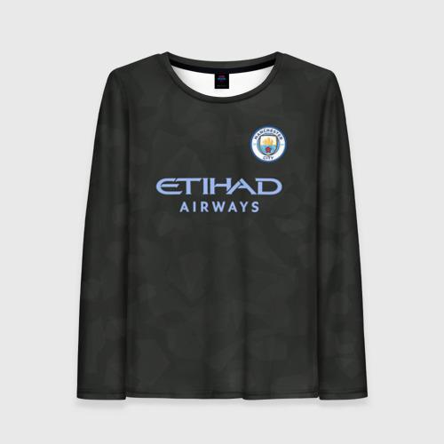 Женский лонгслив 3D Manchester City Kit Third
