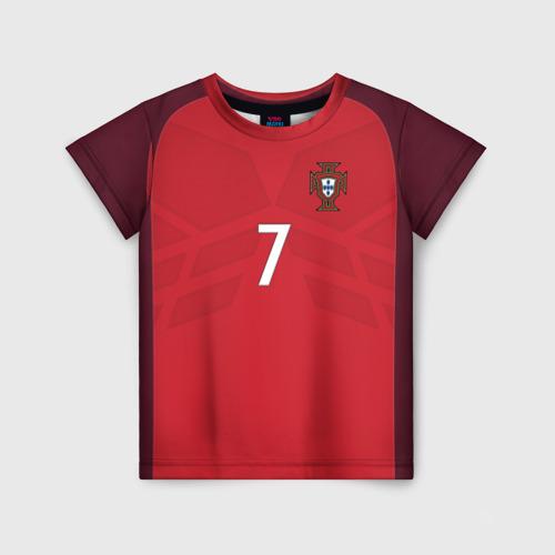 Детская футболка 3D Ronaldo 17-18