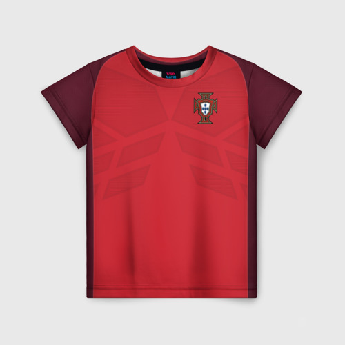 Детская футболка 3D Portugal 2018