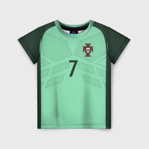 Детская футболка 3D Ronaldo away 17-18