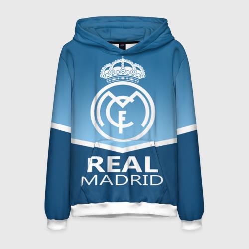 Мужская толстовка 3D Реал Мадрид
