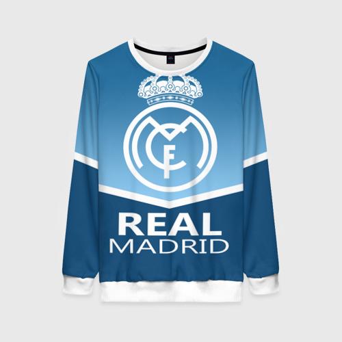 Женский свитшот 3D Реал Мадрид