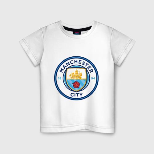 Детская футболка хлопок Manchester City