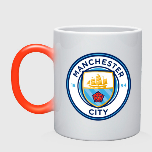 Кружка хамелеон Manchester City