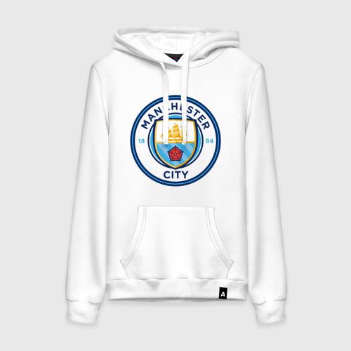Женская толстовка хлопок Manchester City