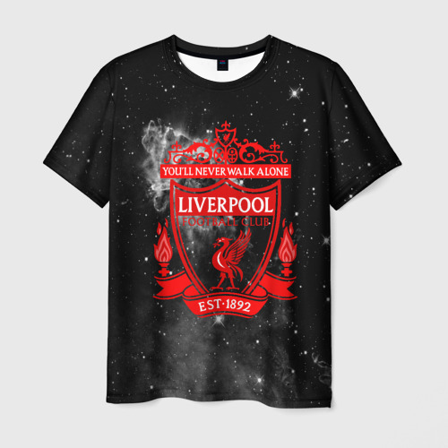 Мужская футболка 3D FC LIVERPOOL