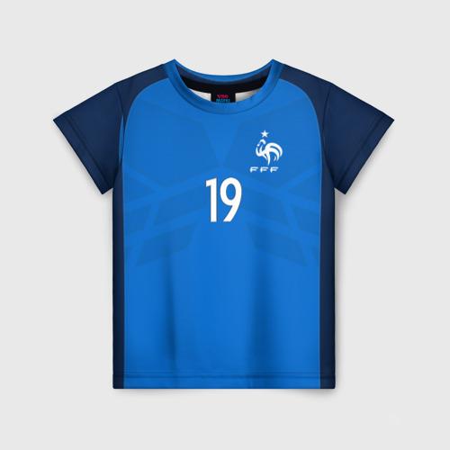 Детская футболка 3D Pogba home