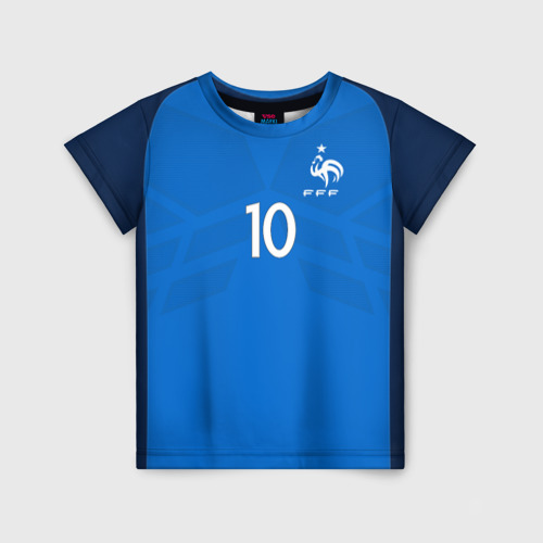 Детская футболка 3D Benzema 17-18
