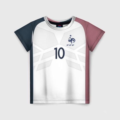 Детская футболка 3D Benzema away 17-18