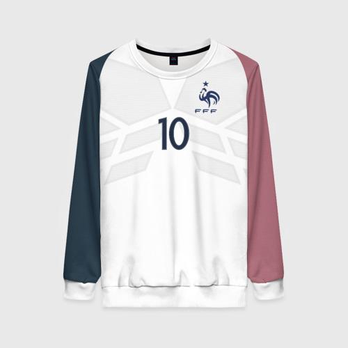 Женский свитшот 3D Benzema away 17-18