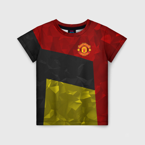 Детская футболка 3D Manchester United 2018