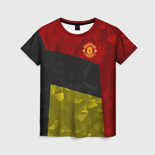 Женская футболка 3D Manchester United 2018