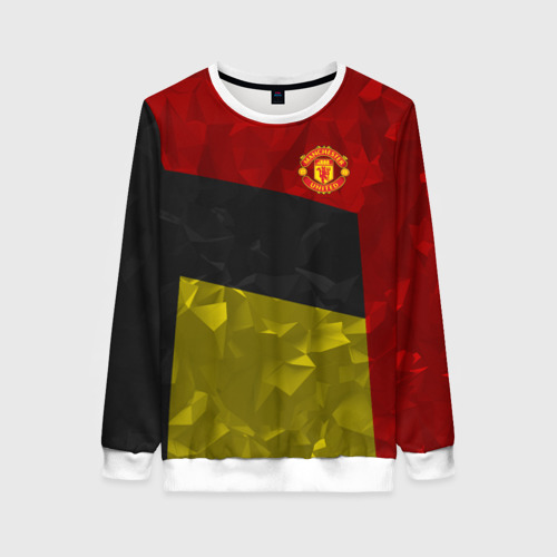 Женский свитшот 3D Manchester United 2018