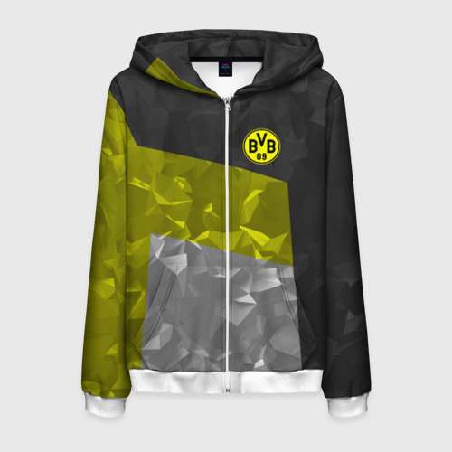Мужская толстовка 3D на молнии Borussia Dortmund 2018