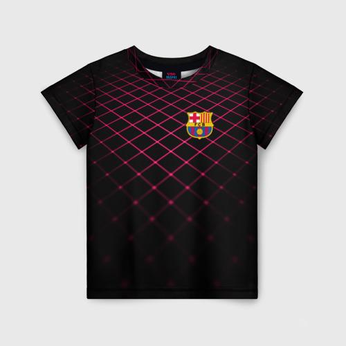 Детская футболка 3D FC Barcelona 2018 Line