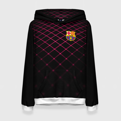 Женская толстовка 3D FC Barcelona 2018 Line