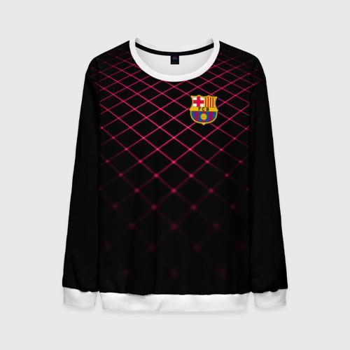 Мужской свитшот 3D FC Barcelona 2018 Line