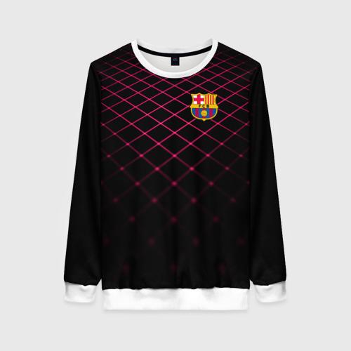 Женский свитшот 3D FC Barcelona 2018 Line