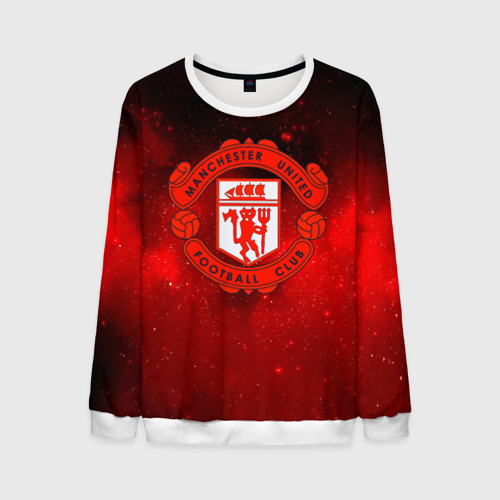 Мужской свитшот 3D FC Манчестер