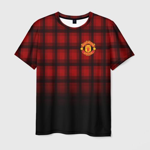 Мужская футболка 3D Manchester United 2018