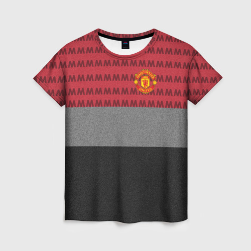 Женская футболка 3D Manchester United Original