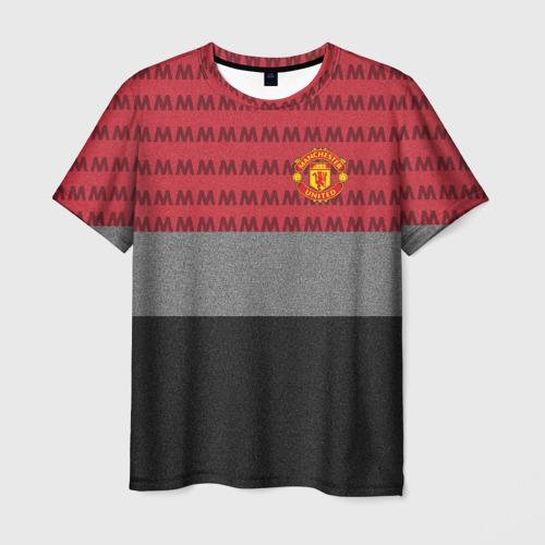 Мужская футболка 3D Manchester United Original