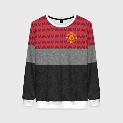 Женский свитшот 3D Manchester United Original