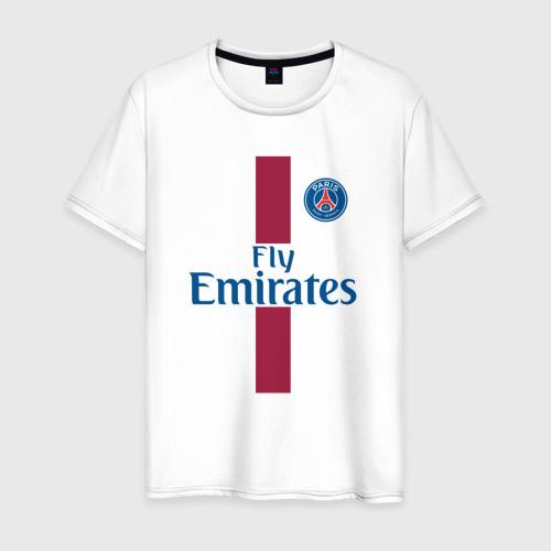 Мужская футболка хлопок Пари Сен-Жермен 2018