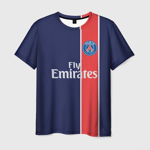 Мужская футболка 3D PSG 2018 Original 1