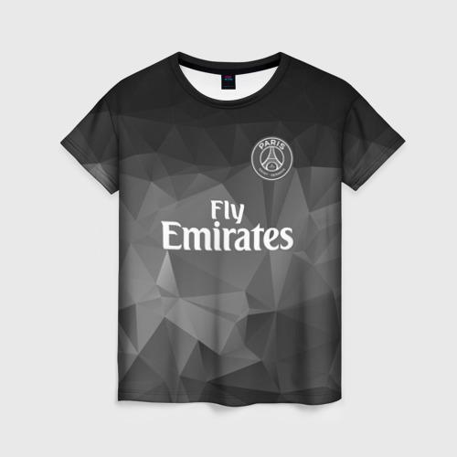 Женская футболка 3D PSG 2018 Original 5