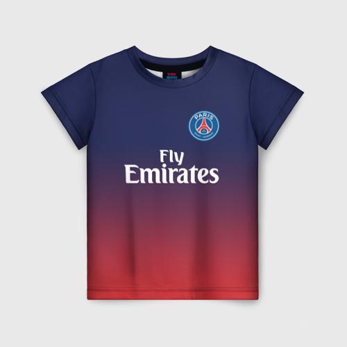 Детская футболка 3D PSG 2018 Original 12