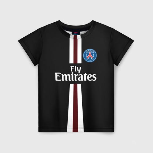 Детская футболка 3D PSG 2018 Original 15