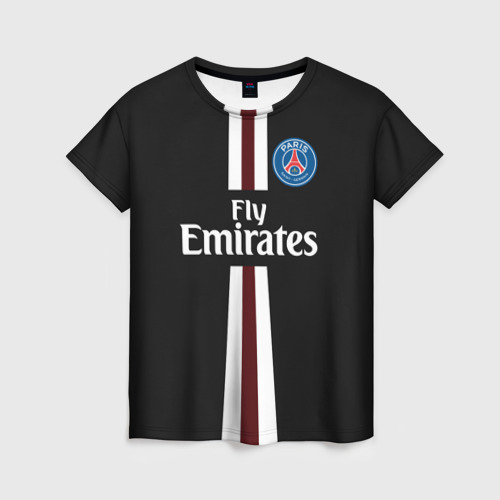 Женская футболка 3D PSG 2018 Original 15