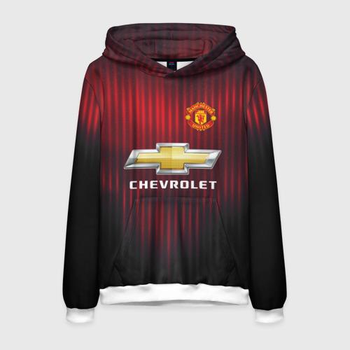 Мужская толстовка 3D Manchester United 2018 red