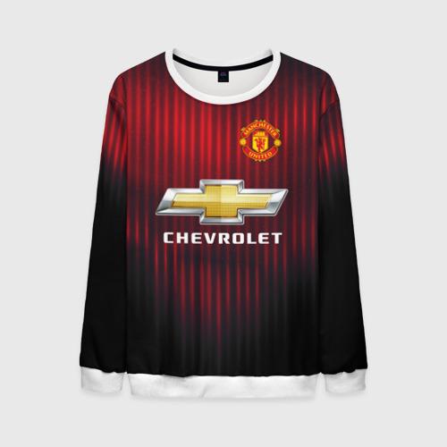 Мужской свитшот 3D Manchester United 2018 red