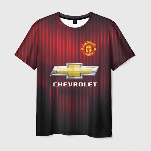 Мужская футболка 3D Manchester United 2018 red