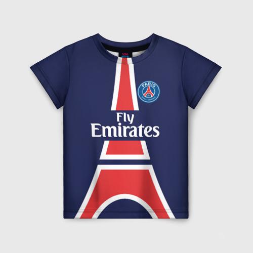 Детская футболка 3D PSG 2018 Original 18