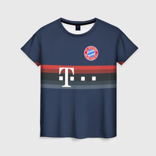 Женская футболка 3D FC Bayern 2018 Original 5