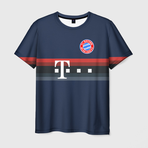 Мужская футболка 3D FC Bayern 2018 Original 5