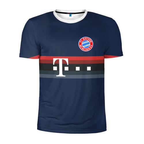 Мужская футболка 3D спортивная FC Bayern 2018 Original 5