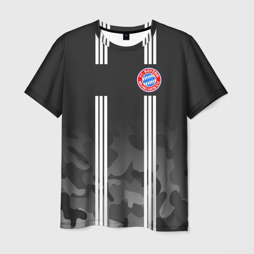 Мужская футболка 3D FC Bayern 2018 Original 2