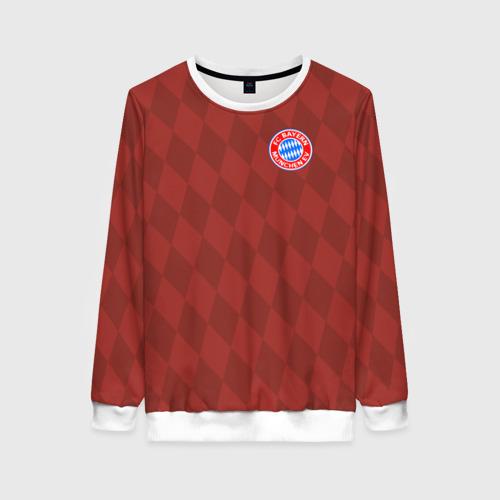 Женский свитшот 3D FC Bayern 2018 Original 10