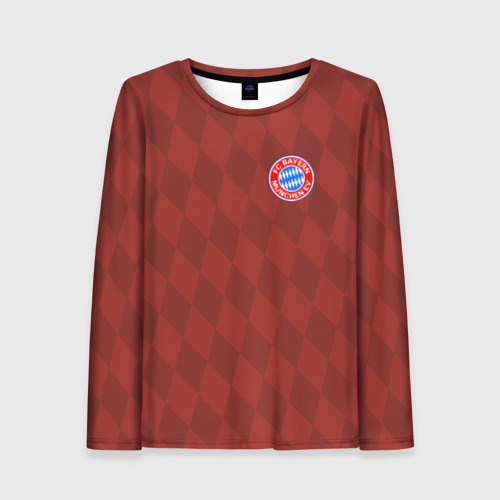 Женский лонгслив 3D FC Bayern 2018 Original 10