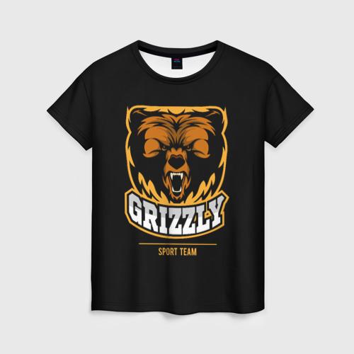 Женская футболка 3D GTIZZLY(sport team)