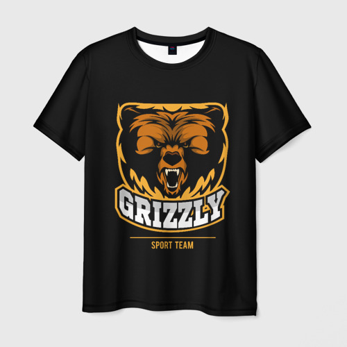 Мужская футболка 3D GTIZZLY(sport team)