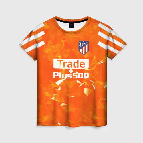 Женская футболка 3D Atletico Madrid Original 5