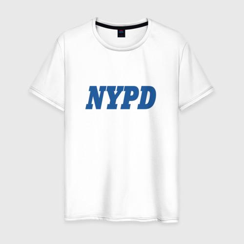 Мужская футболка хлопок NYPD