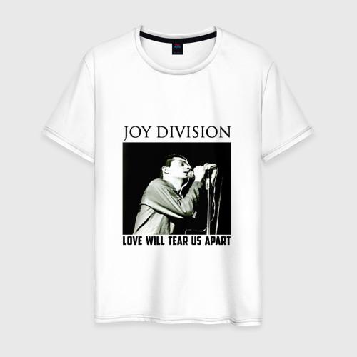 Мужская футболка хлопок LOVE  WILL  TEAR  US  APART