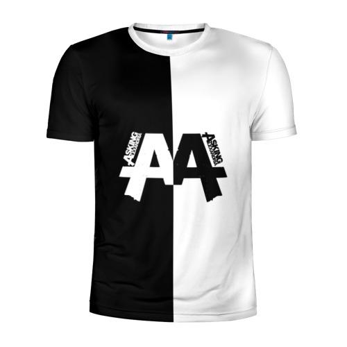 Мужская футболка 3D спортивная Asking Alexandria