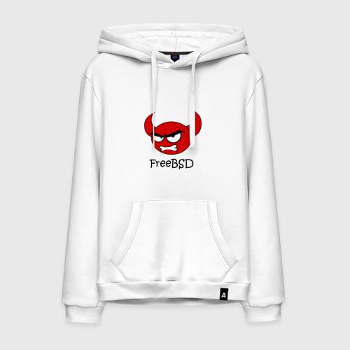 Мужская толстовка хлопок FreeBSD демон